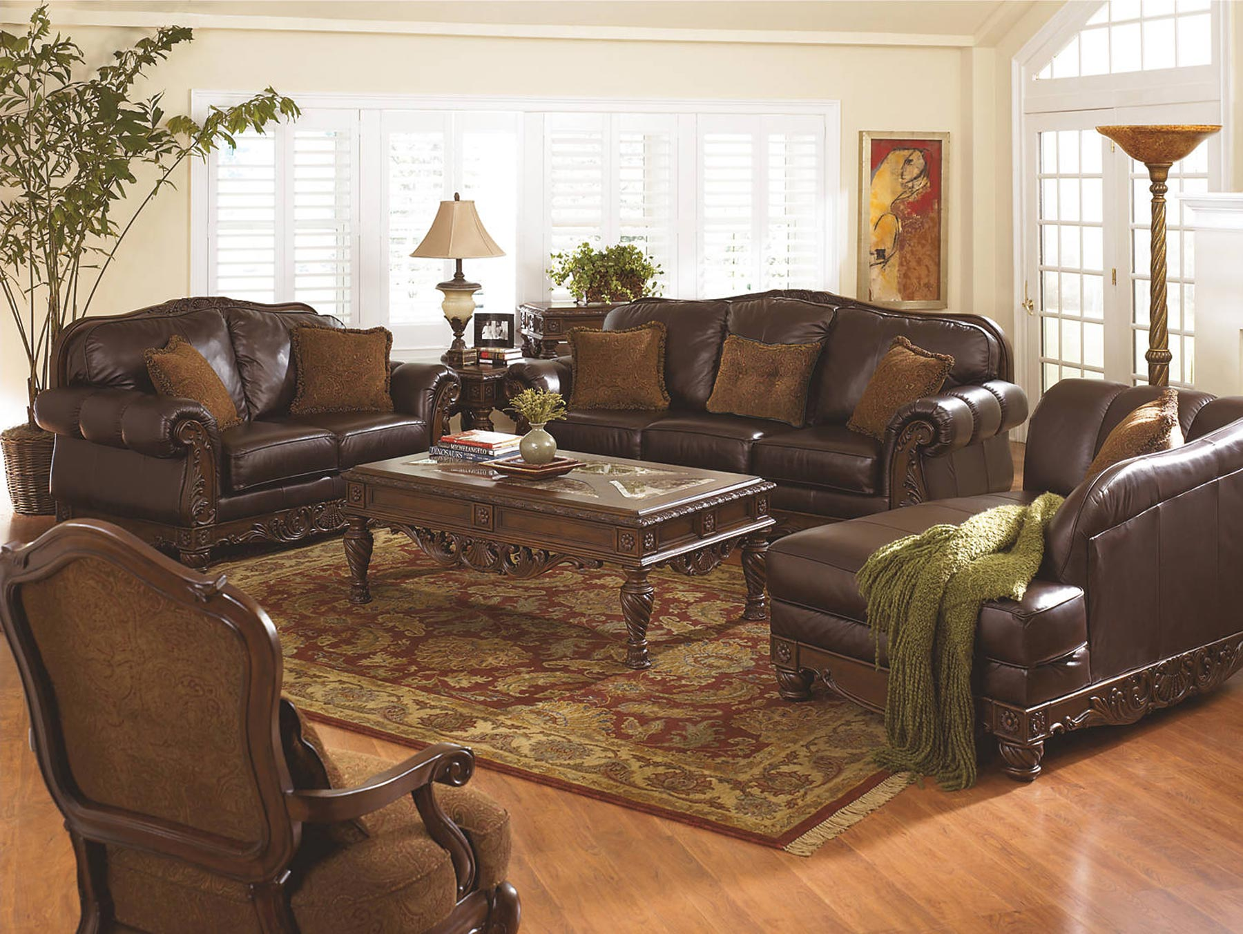 North S 2 Piece Living Room Set By Ashley Furniture