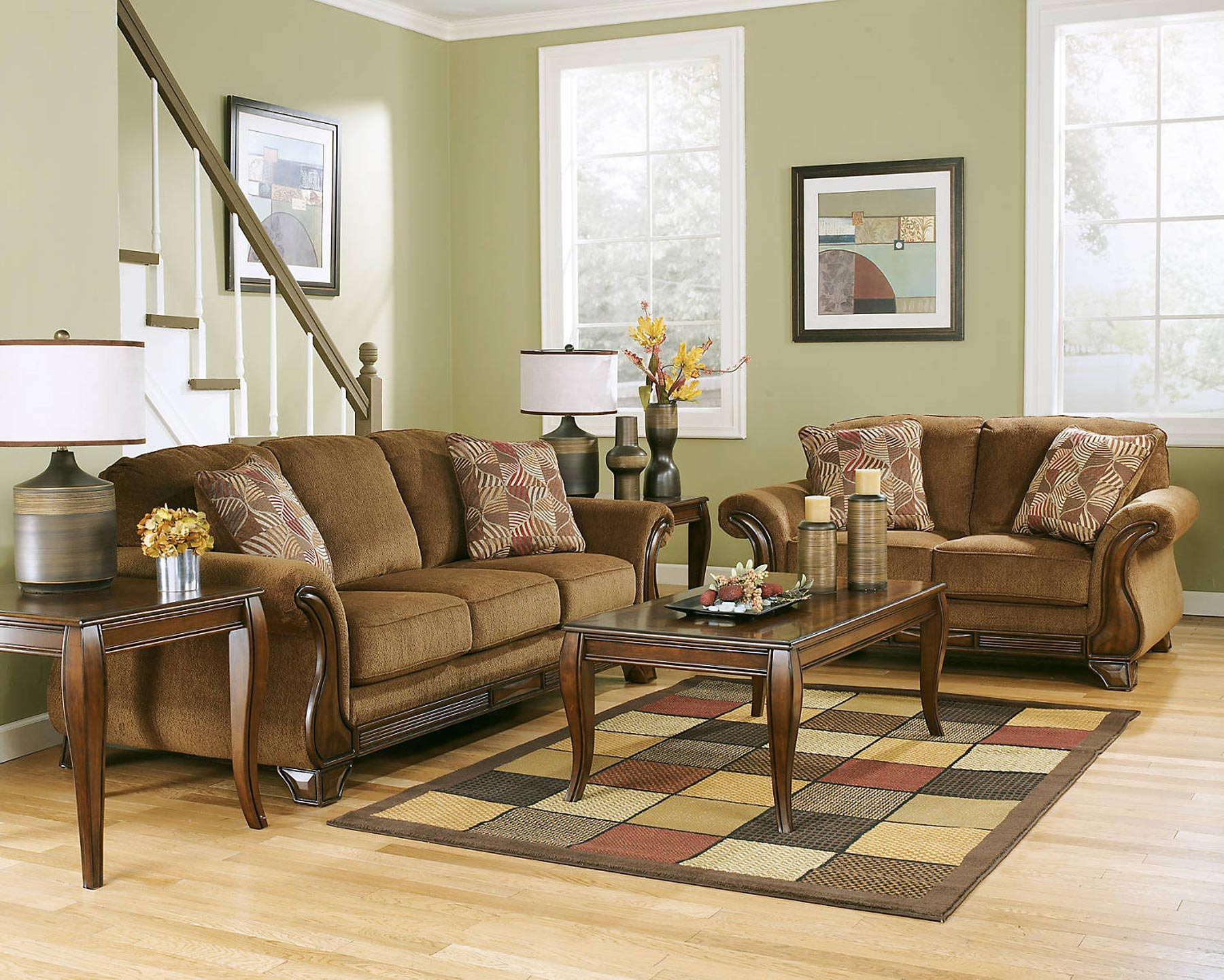 Montgomery 3 Piece Living Room Set | Gonzalez Furniture
