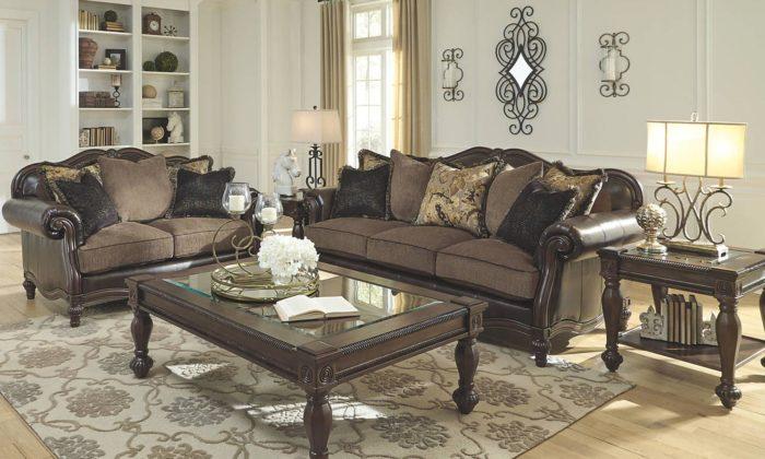Winnsboro 3 Piece Living Room Set. By Ashley Furniture