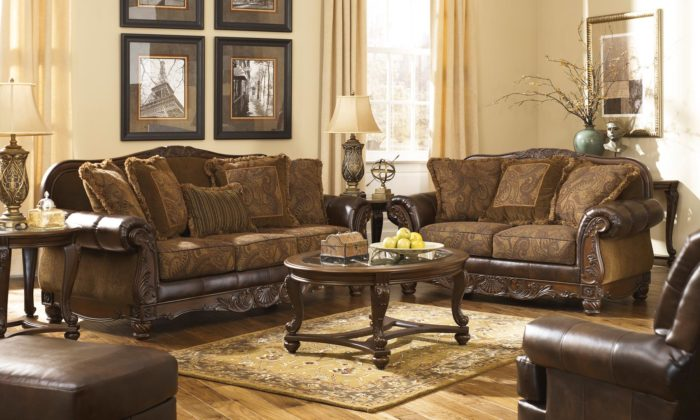 Attractive Fresco 3 Piece Living Room Set. By Ashley Furniture