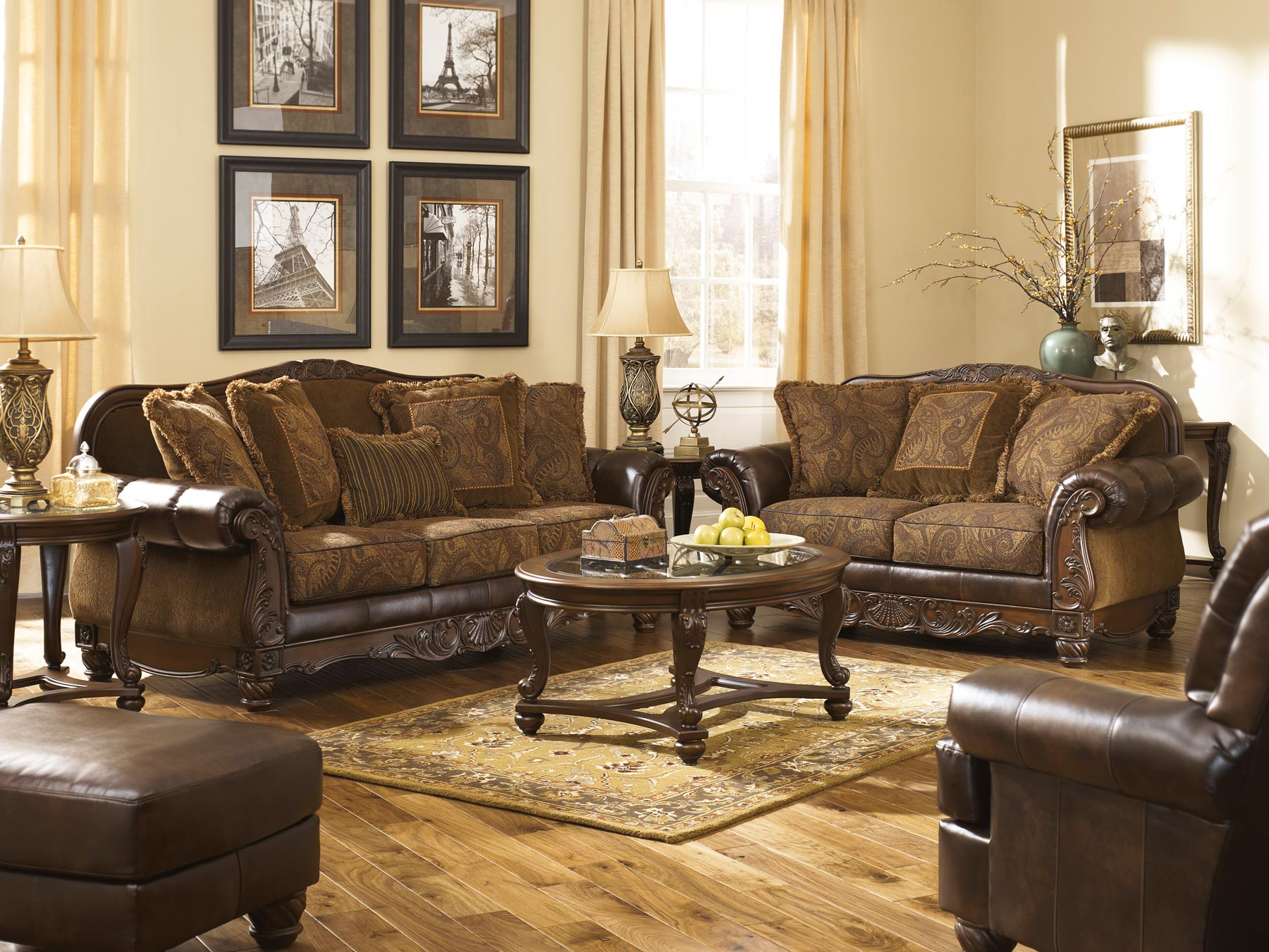 Fresco 3 Piece Living Room Set | Gonzalez Furniture