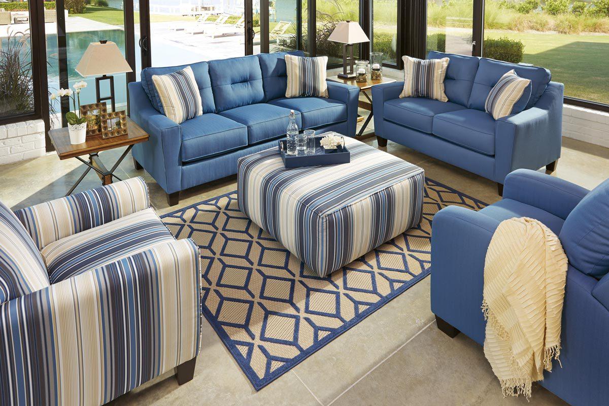 Forsan Nuvella 2 Piece Living Room Set
