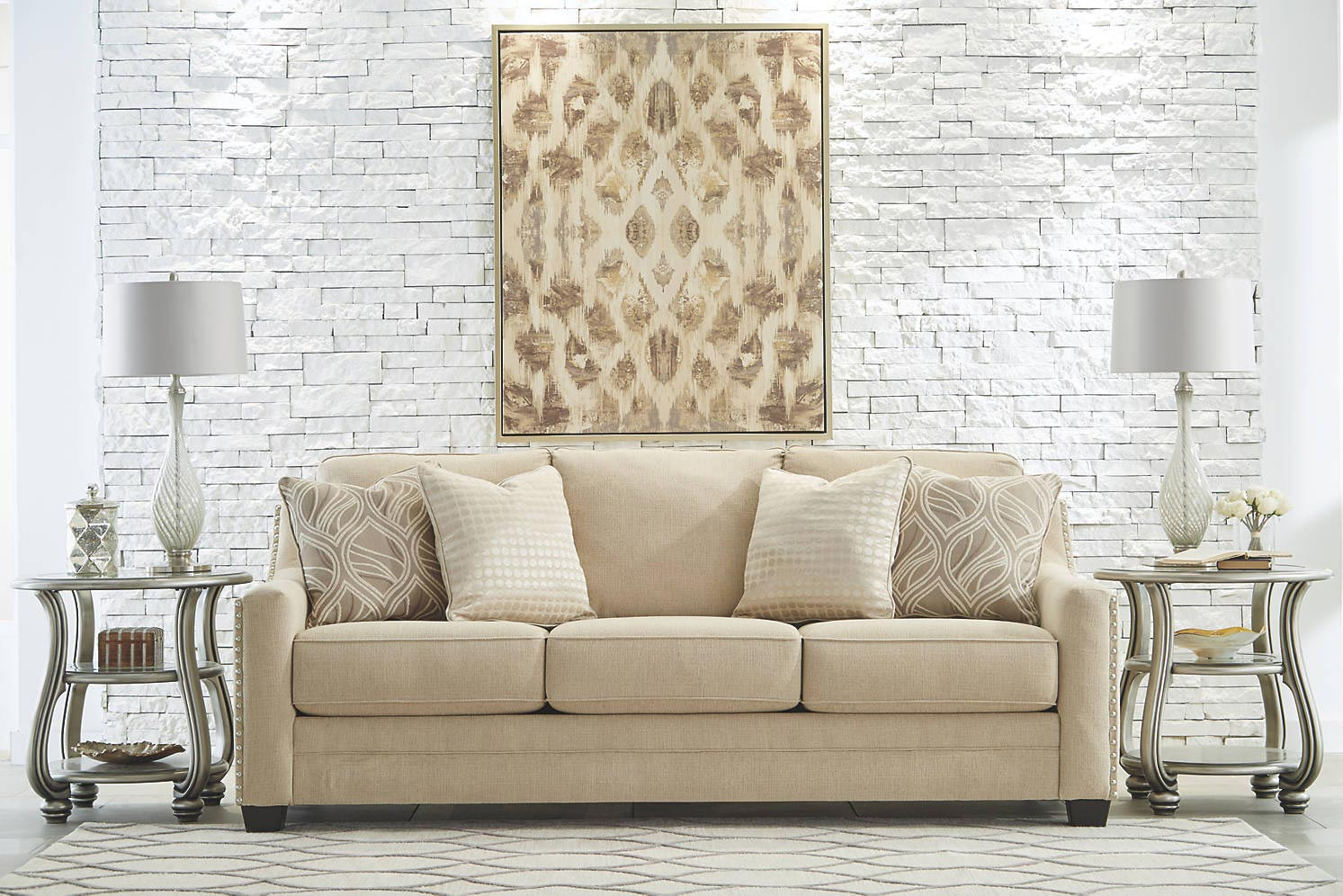 Mauricio 3 Piece Living Room Set | Gonzalez Furniture