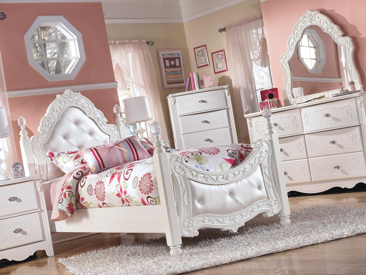 exquisite 6 piece bedroom set gonzalez furniture 11523 | b188 71 mood a sd