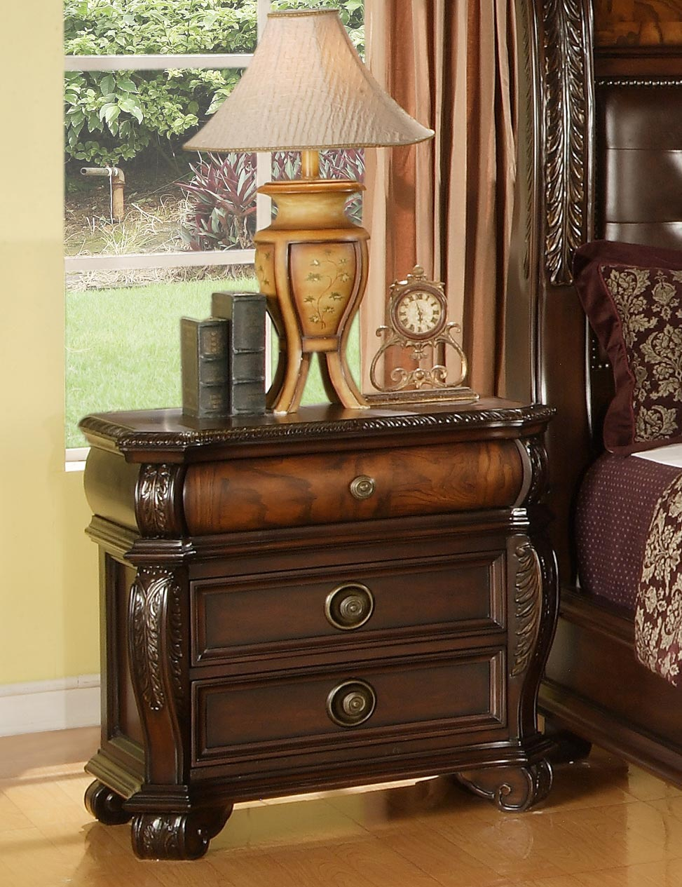 Hemingway 6 Piece Bedroom Set | Gonzalez Furniture