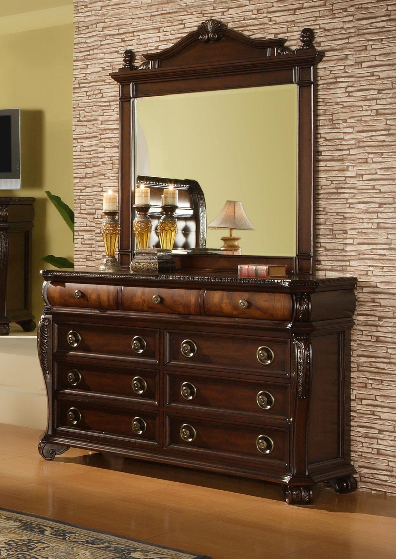 Hemingway 6 Piece Bedroom Set Gonzalez Furniture