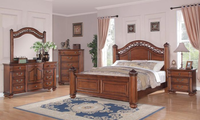 Barkley 6 Piece Bedroom Set