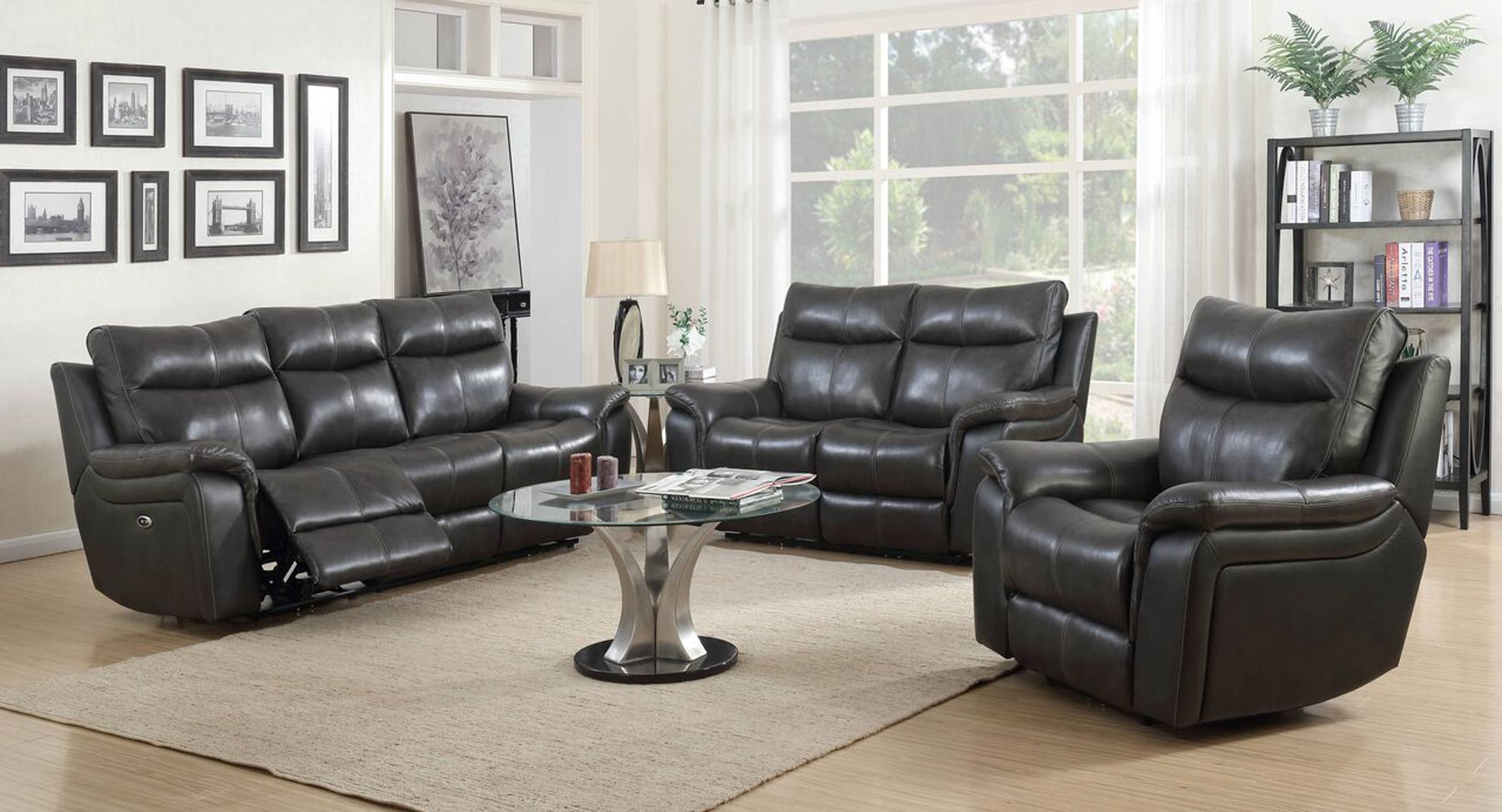 Armando 3 piece living room set gonzalez furniture for 3 piece living room furniture