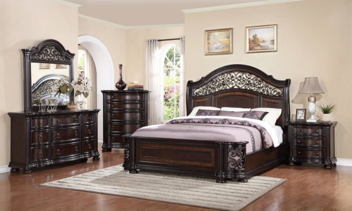 Bon Allison 6 Piece Bedroom Set