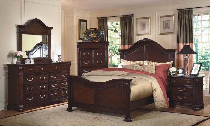 Emilie 6 Piece Bedroom Set