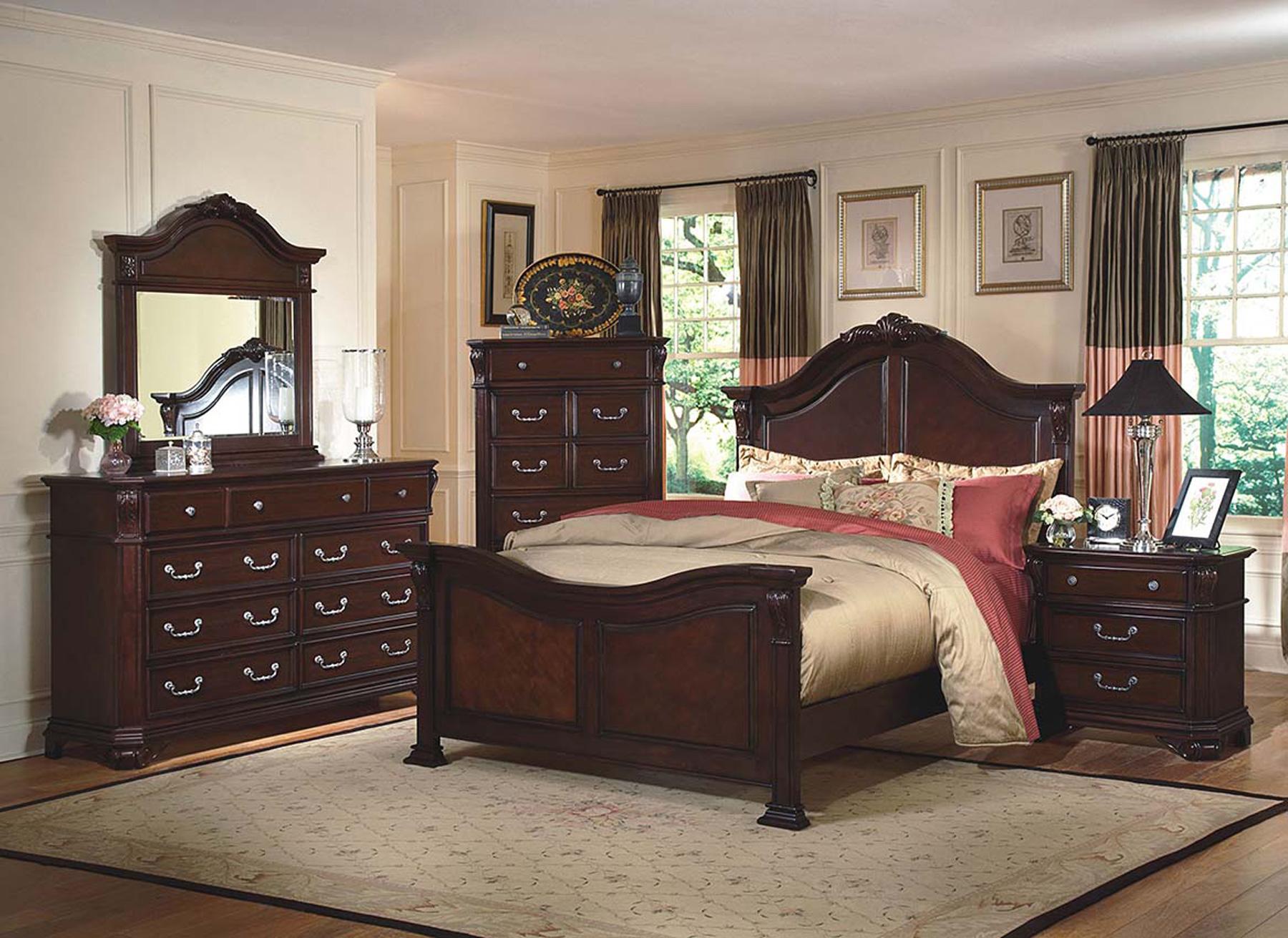 Emilie 6 Piece Bedroom Set | Gonzalez Furniture