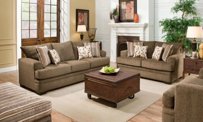 Cornelle 2 Piece Living Room. By American Furniture