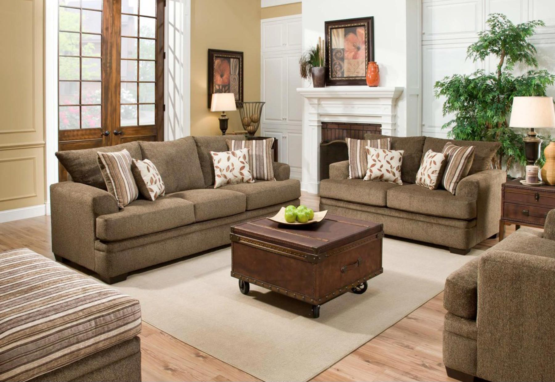 Cornelle 2 piece living room by american furniture