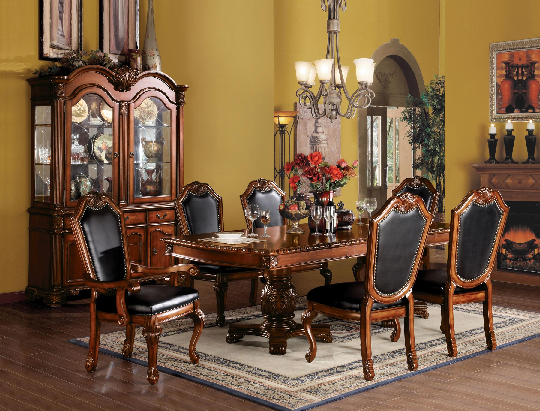 Chateau De Ville 7 Piece Dining Room Set