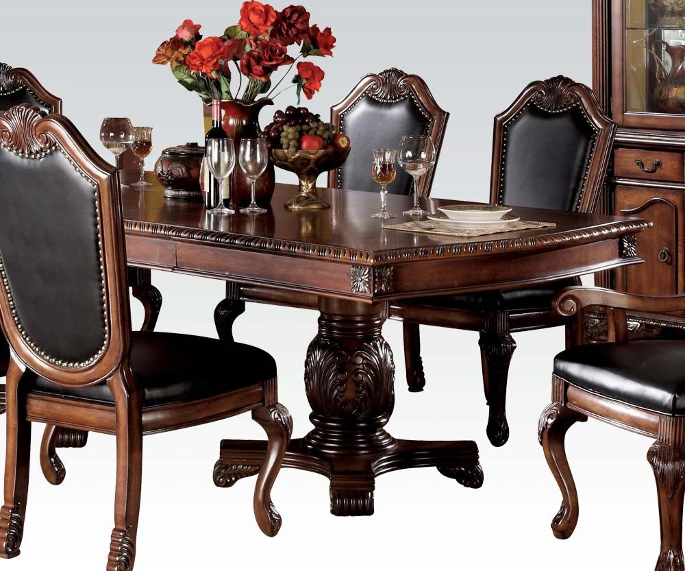 Chateau De Ville 7 Piece Dining Room Set Gonzalez Furniture