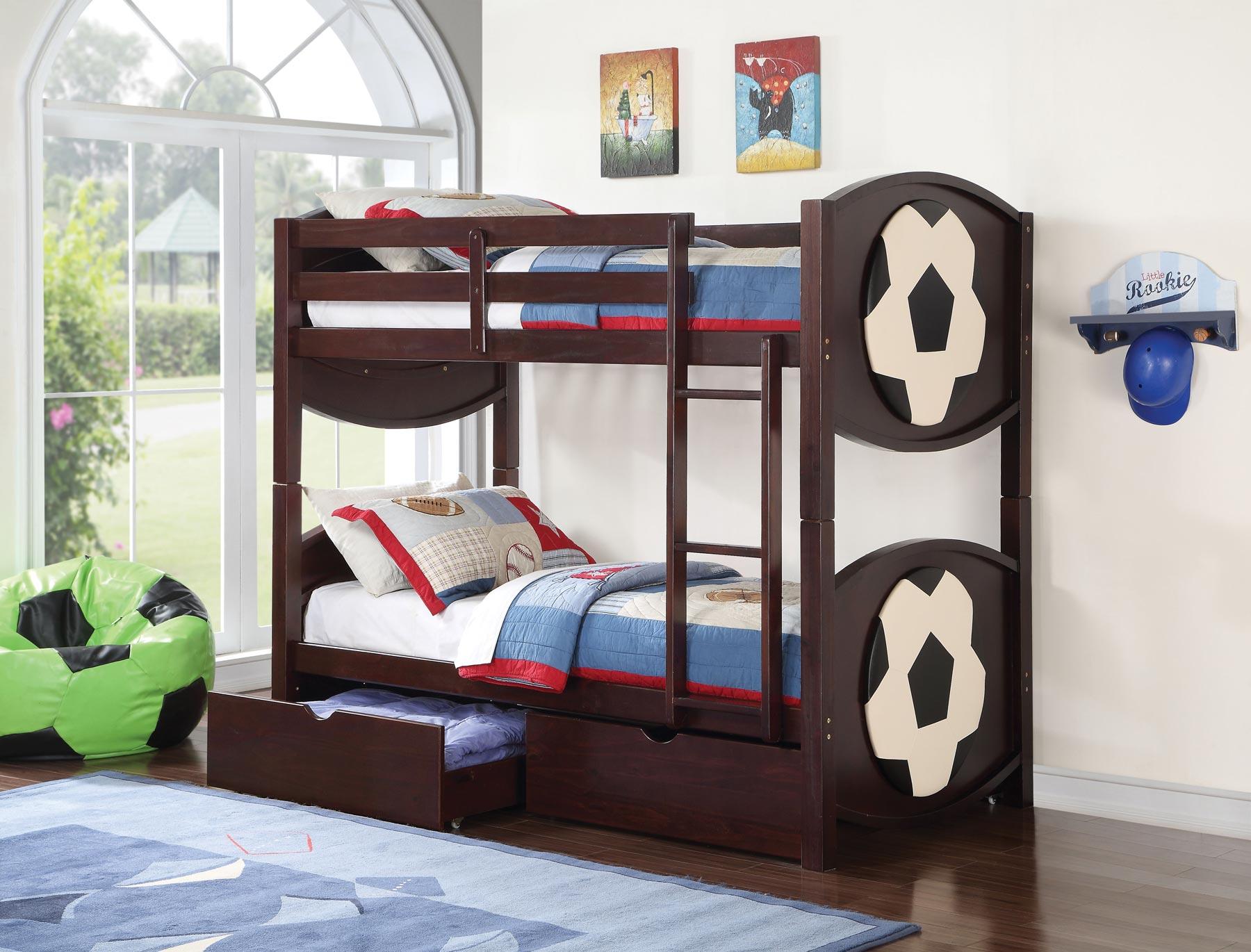 All Star Soccerball Bunk Bed Gonzalez Furniture