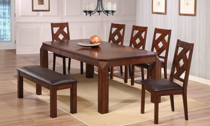 casual dining rooms. Diamond 7 Piece Dining Room Set Casual Rooms Archives  Gonzalez Furniture
