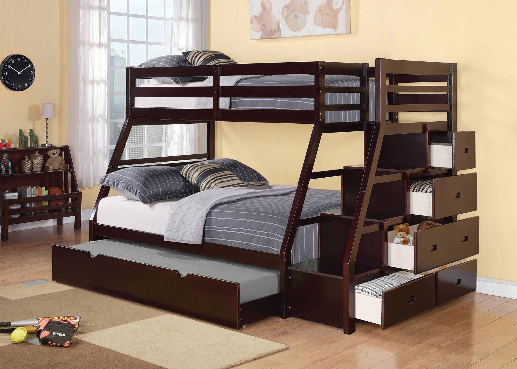 Jason Bunk Bed | Gonzalez Furniture