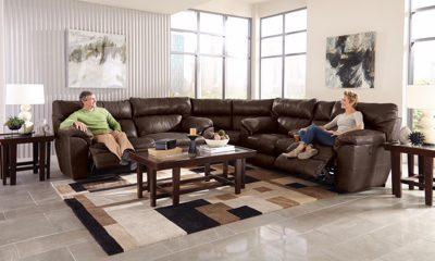Milan Chocolate 3 Piece Living Room Set ...