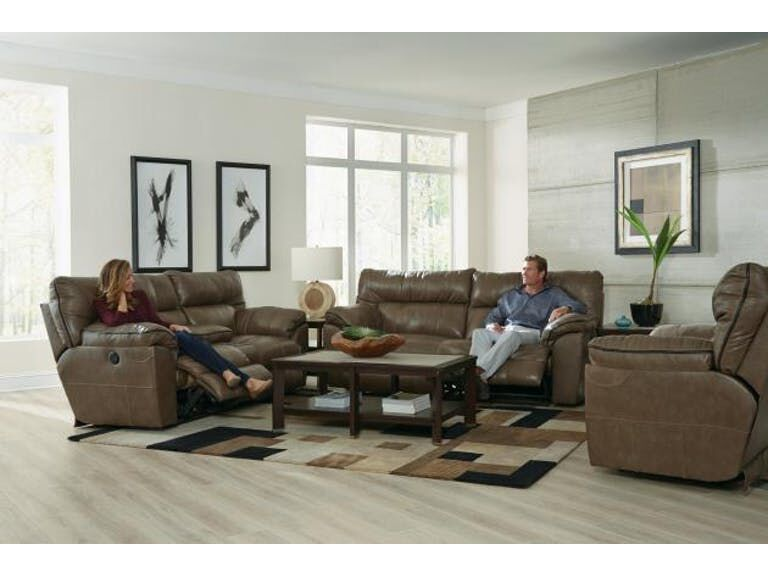 Milan Smoke 3 Piece Living Room Set | Gonzalez Furniture