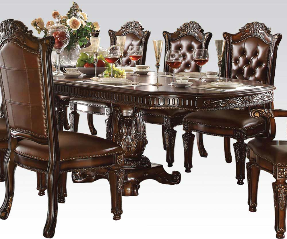 Vendome rectangular table 7 piece dining room set for 7 piece dining room set