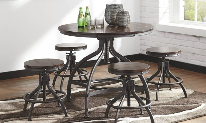 Odium 5 Piece Dining Room Set