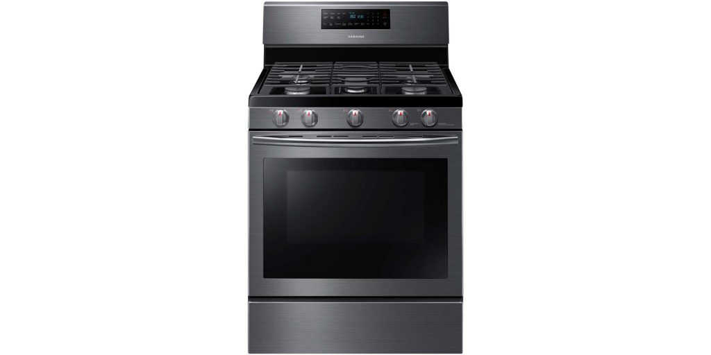 """Samsung 30"""" 5.8 cu. ft. Gas Range with Self-Cleaning and ..."""