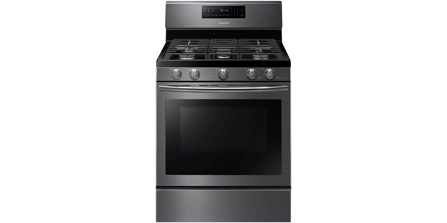 Samsung 30 58 Cu Ft Gas Range With Self Cleaning And Fan
