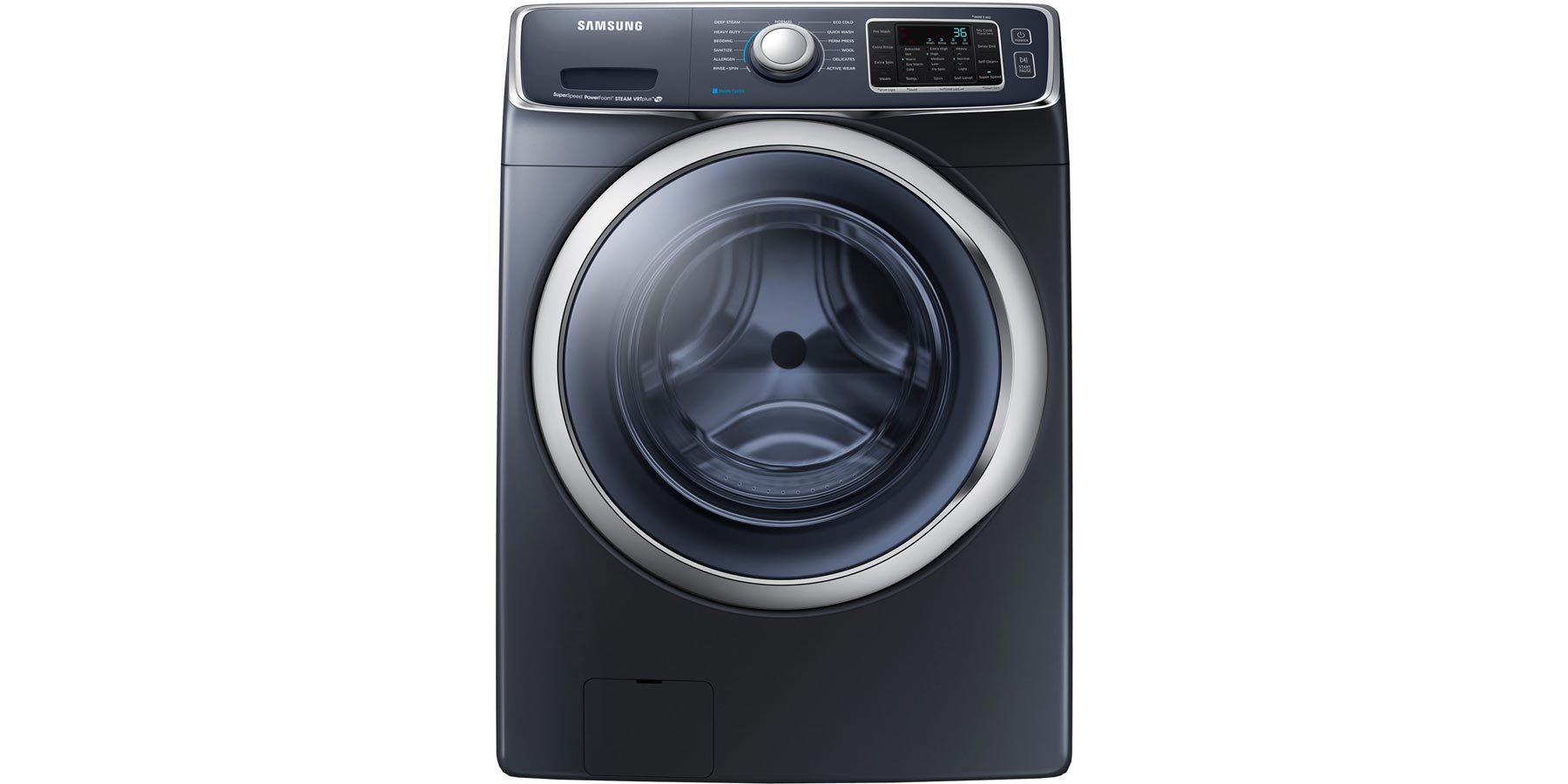 The washing machine Samsung does not squeeze and does not drain the water: what to do 80