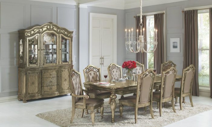 Seville 7 Piece Dining Room Set