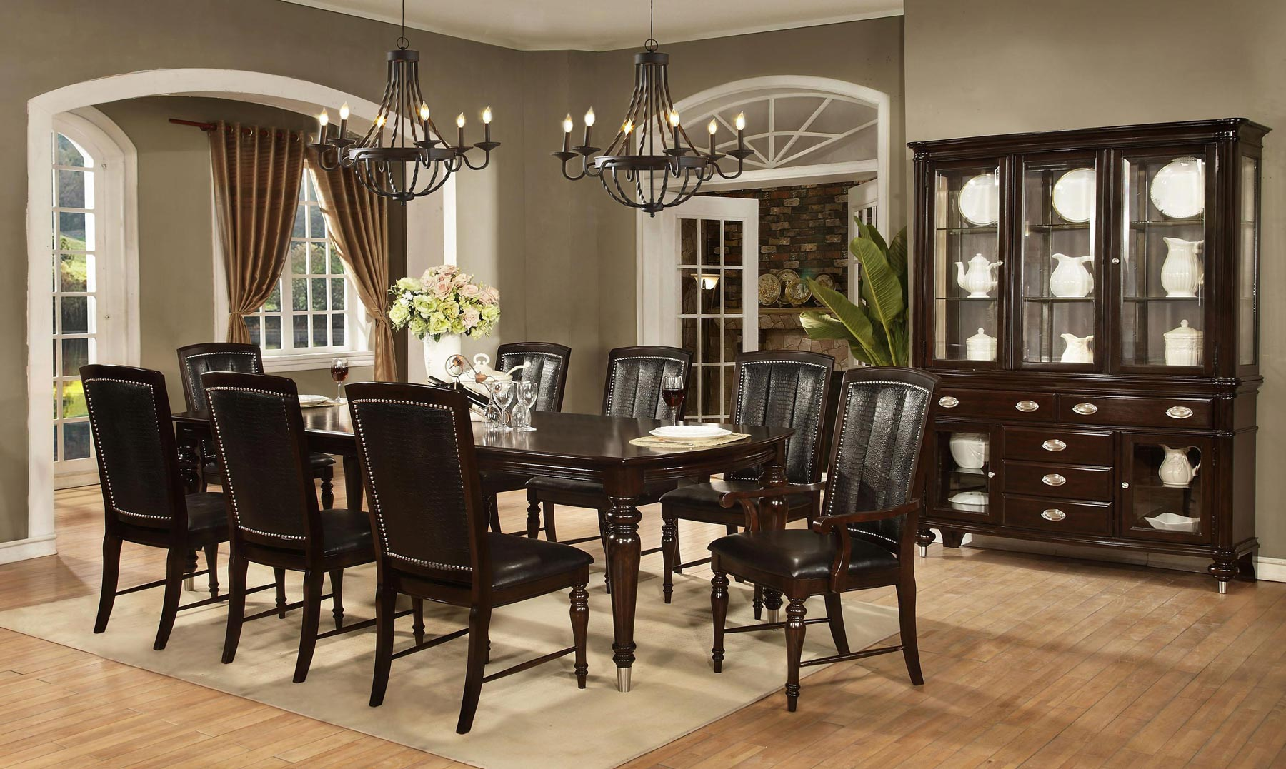 pics of dining room furniture | Dundee Place 7 Piece Dining Room Set | Gonzalez Furniture