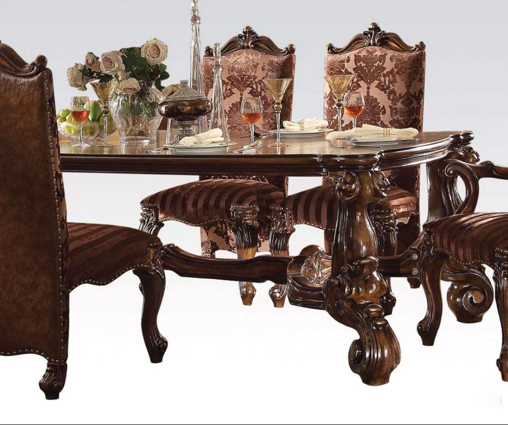 Versailles Rectangular Table 7 Piece Dining Room Set. By ACME Furniture