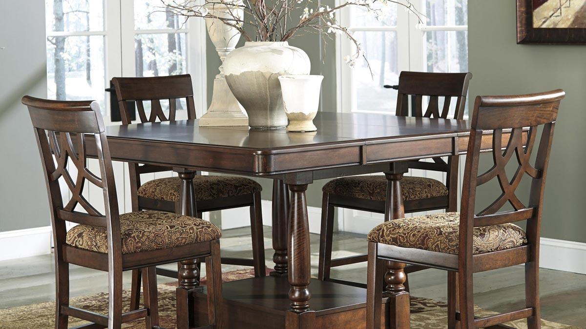Leahlyn 7 Piece Dining Room Set Gonzalez Furniture