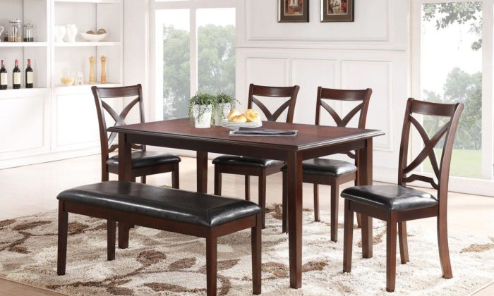 Milo 6 Piece Dining Room Set