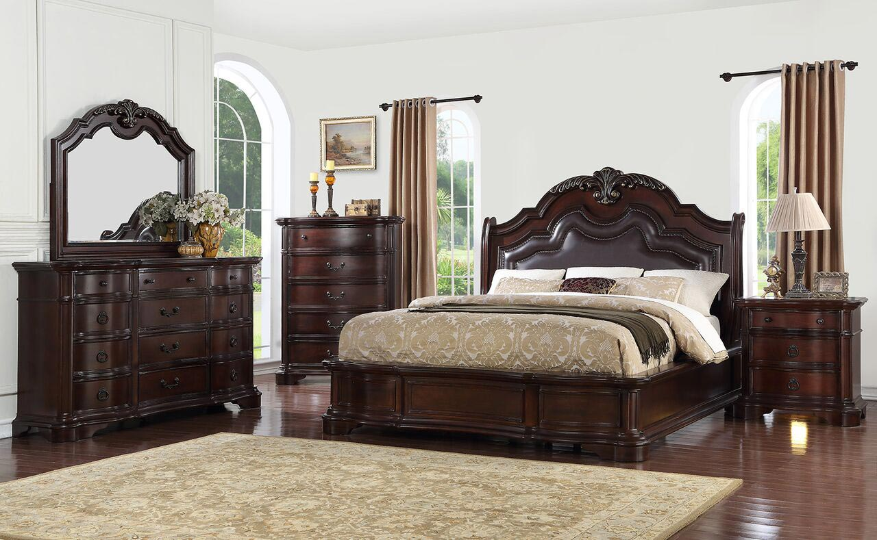Lavon Lake 6 Piece Bedroom Set | Gonzalez Furniture