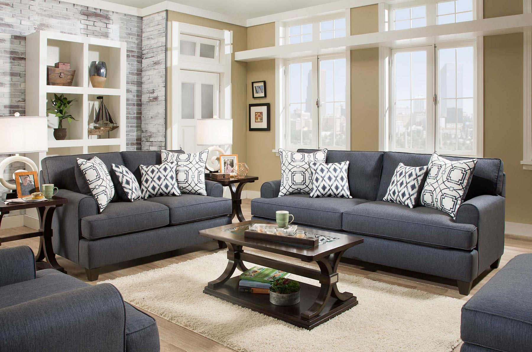 Tremendous Navy Blue Sofa And Loveseat Reclining Navy Blue Leather Theyellowbook Wood Chair Design Ideas Theyellowbookinfo
