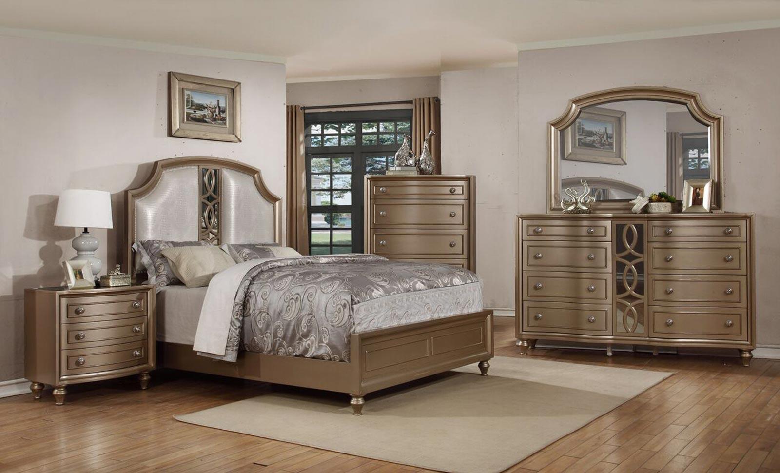 Regency Park 4 Piece Bedroom Set. By Avalon Furniture