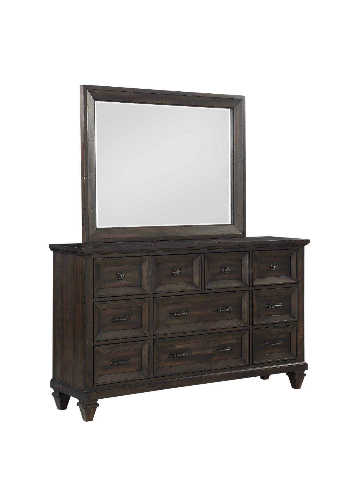 Sevilla Dresser and Mirror