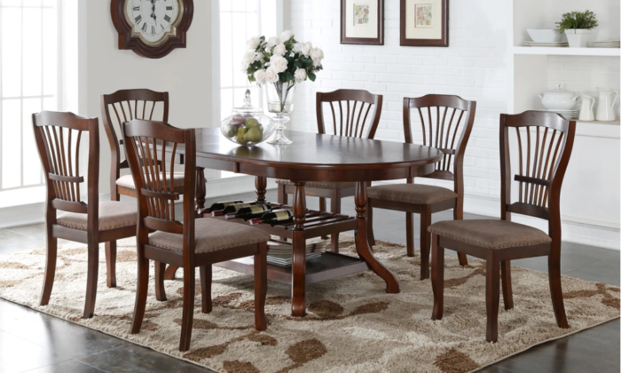 Bixby 7 piece dining set