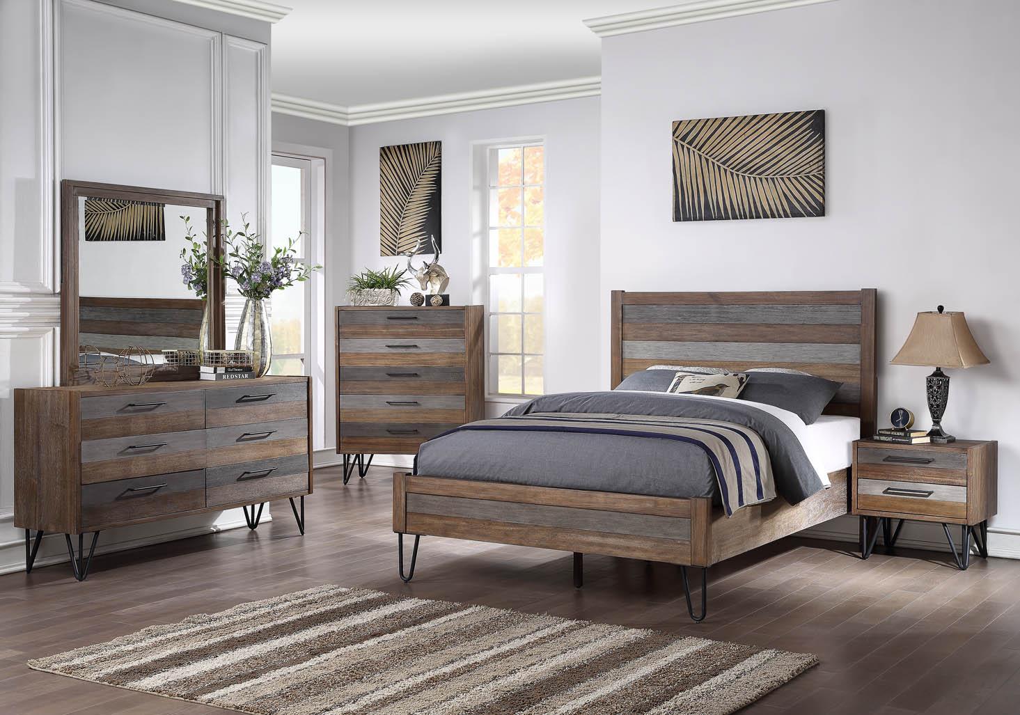 B007 6 Piece Bedroom Set Gonzalez Furniture