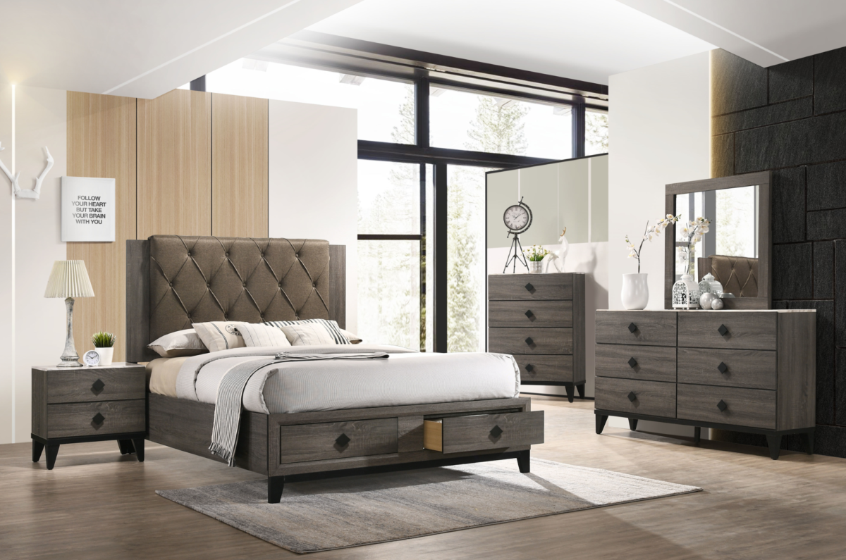 276 Avantika bedroom 6 pc set