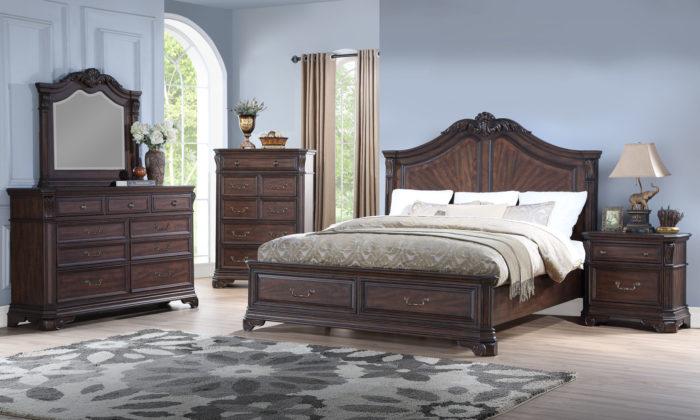 B257 RS stg Bedroom Set